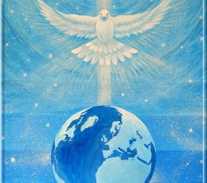 День Голубя — Излияние Силы Святого Духа